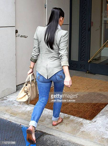 Kim Kardashian shops at Hermes on March 23 2011 in Los Angeles California