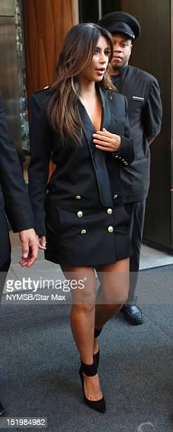 Kim Kardashian sighted on September 13 2012 in New York City