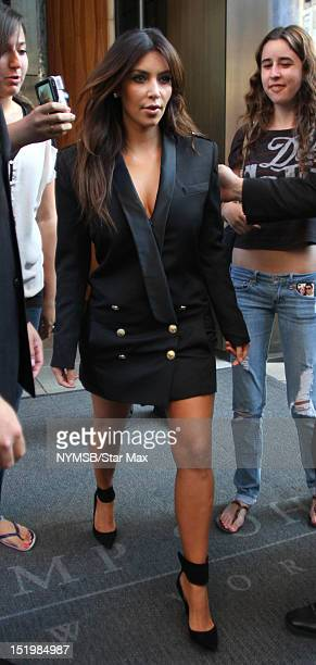 Kim Kardashian sighted on September 13 2012 in New York City
