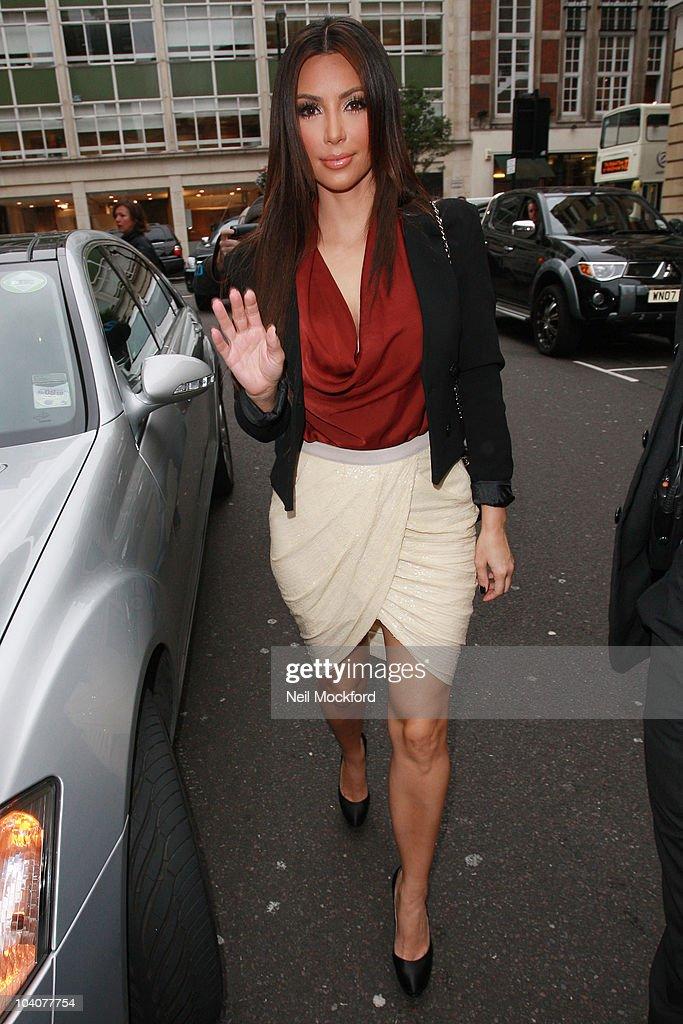 Kim Kardashian Sighting in London : News Photo