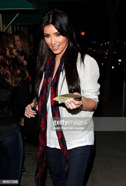 Kim Kardashian sighting on March 21 2009 in West Hollywood California