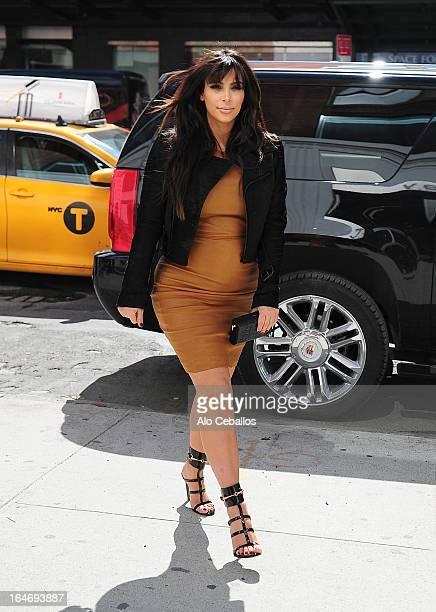 Kim Kardashian sighting on March 26 2013 in New York City