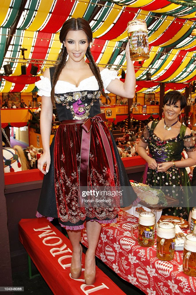 Kim Kardashian Visits Munich Photos And Images Getty Images - 10 best tents to visit at oktoberfest in munich