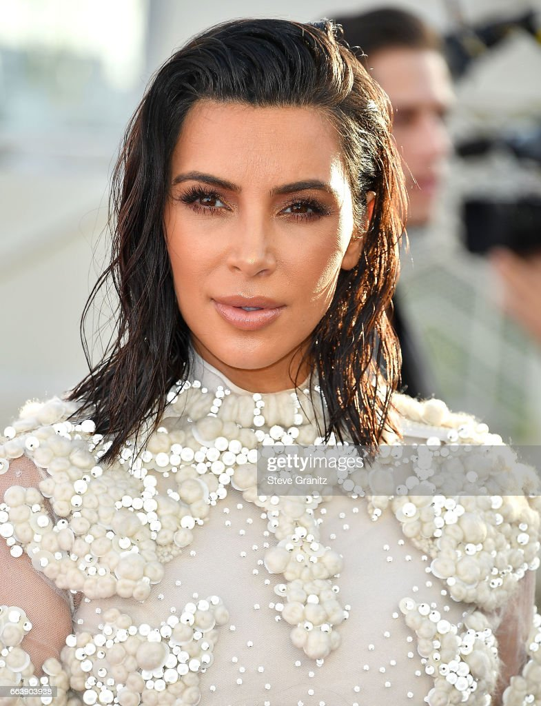 Kim Kardashian West arrives at the Daily Front Row's 3rd Annual Fashion Los Angeles Awards on April 2, 2017 in West Hollywood, California.