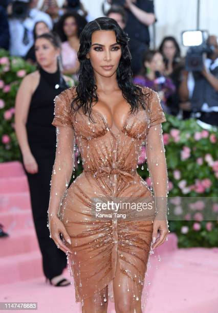Kim Kardashian West arrives for the 2019 Met Gala celebrating Camp Notes on Fashion at The Metropolitan Museum of Art on May 06 2019 in New York City