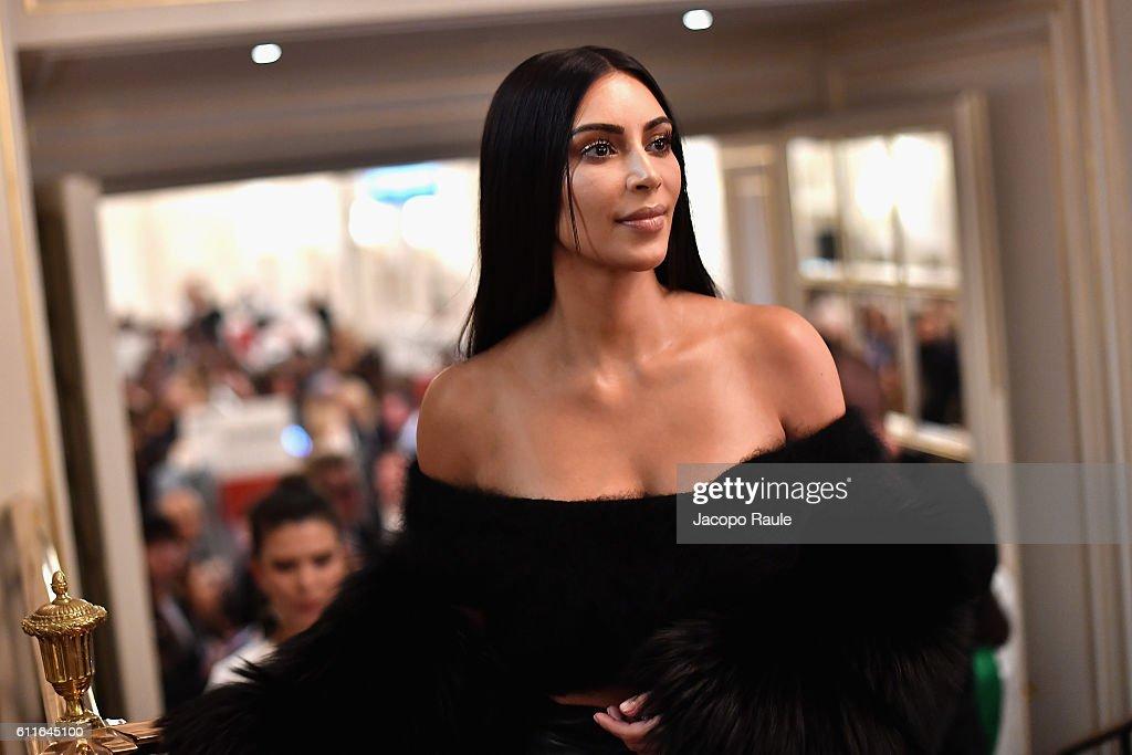 Kim Kardashian West attends Buro 24/7 Fashion Forward Initiative as part of Paris Fashion Week Womenswear Spring/Summer 2016 at Hotel Ritz on September 30, 2016 in Paris, France.