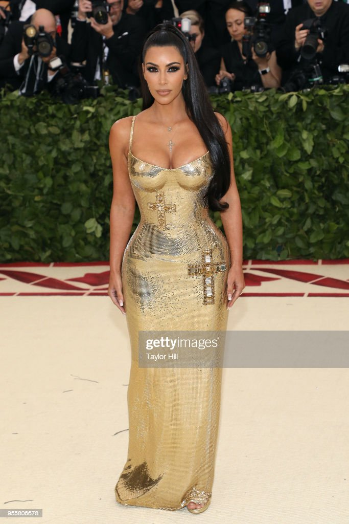 Kim Kardashian West attends 'Heavenly Bodies: Fashion & the Catholic Imagination', the 2018 Costume Institute Benefit at Metropolitan Museum of Art on May 7, 2018 in New York City.