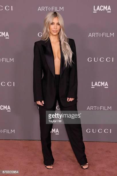 Kim Kardashian West attends the 2017 LACMA Art Film Gala at LACMA on November 4 2017 in Los Angeles California