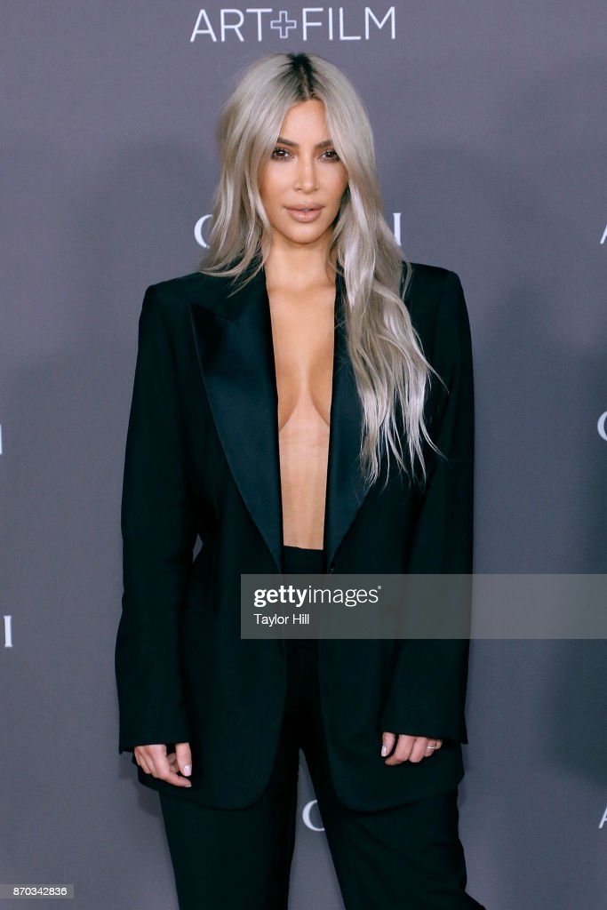 Kim Kardashian West attends the 2017 LACMA Art + Film Gala on November 4, 2017 in Los Angeles, California.