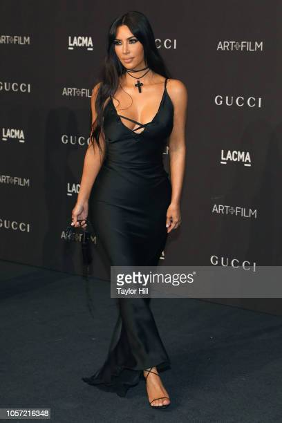Kim Kardashian West attends the 2018 ArtFilm Gala at LACMA on November 3 2018 in Los Angeles California