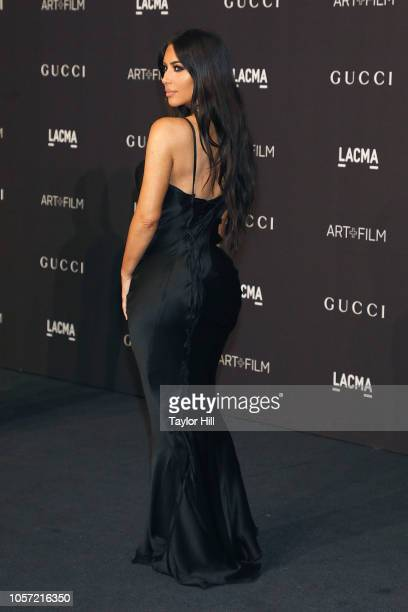 Kim Kardashian West attends the 2018 ArtFilm Gala at LACMA on November 3 2018 in Los Angeles California