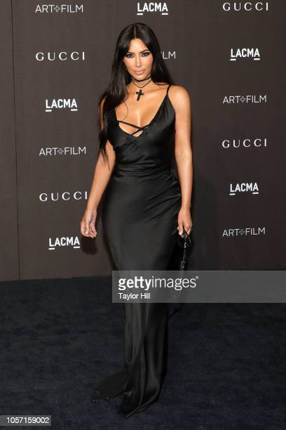 Kim Kardashian West attends the 2018 LACMA ArtFilm Gala at LACMA on November 3 2018 in Los Angeles California