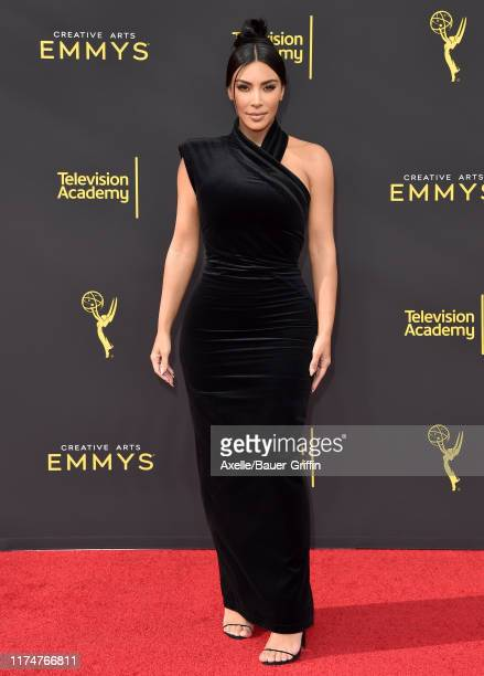 Kim Kardashian West attends the 2019 Creative Arts Emmy Awards on September 14 2019 in Los Angeles California