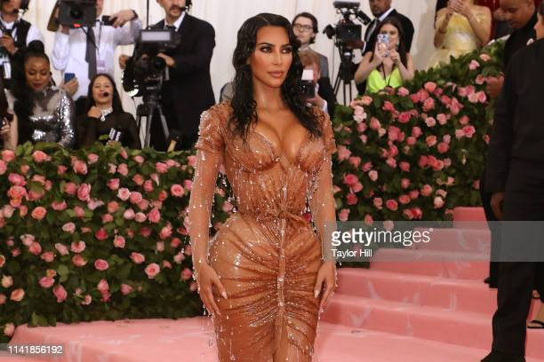 Kim Kardashian West attends the 2019 Met Gala celebrating Camp Notes on Fashion at The Metropolitan Museum of Art on May 6 2019 in New York City