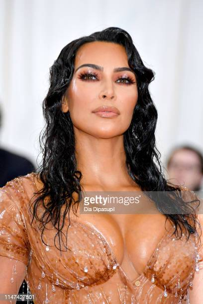 Kim Kardashian West attends The 2019 Met Gala Celebrating Camp: Notes on Fashion at Metropolitan Museum of Art on May 06, 2019 in New York City.