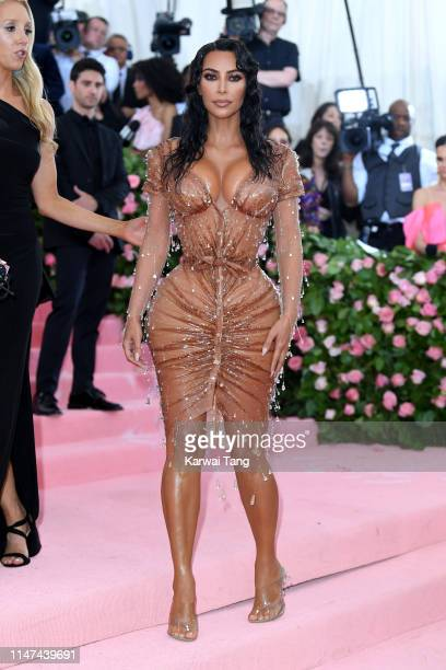 Kim Kardashian West attends The 2019 Met Gala Celebrating Camp: Notes On Fashion at The Metropolitan Museum of Art on May 06, 2019 in New York City.