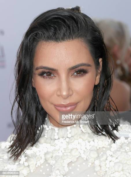 Kim Kardashian West attends the Daily Front Row's 3rd Annual Fashion Los Angeles Awards at Sunset Tower Hotel on April 2 2017 in West Hollywood...