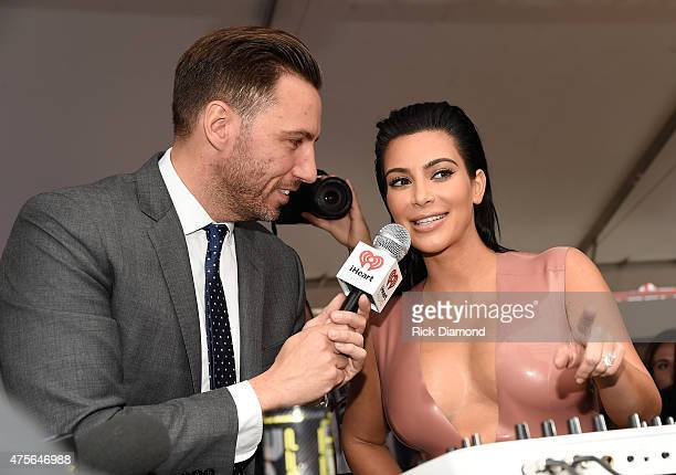 Kim Kardashian West attends the Hype Energy Drinks US Launch on June 2 2015 in Nashville Tennessee
