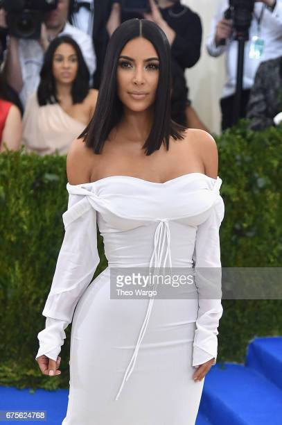 """Kim Kardashian West attends the """"Rei Kawakubo/Comme des Garcons: Art Of The In-Between"""" Costume Institute Gala at Metropolitan Museum of Art on May..."""