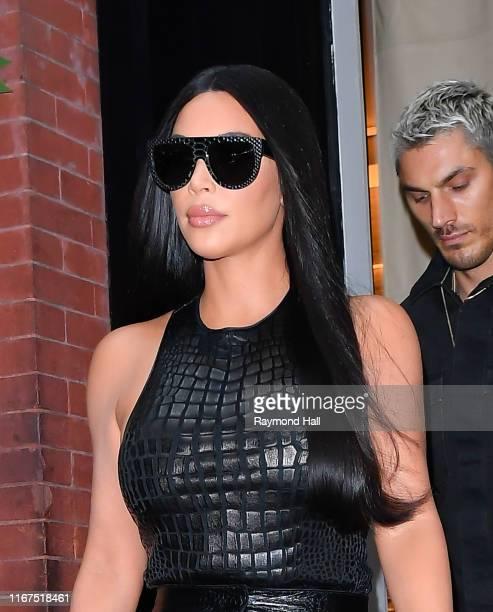 Kim Kardashian West is seen walking in SoHo on September 12, 2019 in New York City.