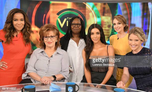 THE VIEW Kim Kardashian West is the guest Tuesday June 20 2017 on ABC's 'The View' 'The View' airs MondayFriday on the ABC Television Network HAINES