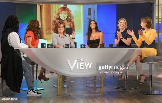 THE VIEW Kim Kardashian West is the guest Tuesday June 20 2017 on ABC's 'The View' 'The View' airs MondayFriday on the ABC Television Network BILA