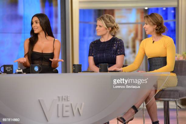THE VIEW Kim Kardashian West is the guest Tuesday June 20 2017 on Walt Disney Television via Getty Images's The View The View airs MondayFriday on...