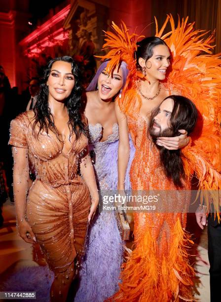 Kim Kardashian West, Kylie Jenner and Kendall Jenner attend The 2019 Met Gala Celebrating Camp: Notes on Fashion at Metropolitan Museum of Art on May...