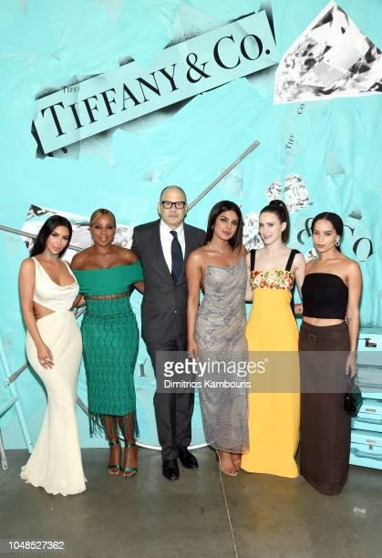 Kim Kardashian West Mary J Blige Reed Krakoff Priyanka Chopra Rachel Brosnahan and Zoe Kravitz attend Tiffany Co Celebrates 2018 Tiffany Blue Book...