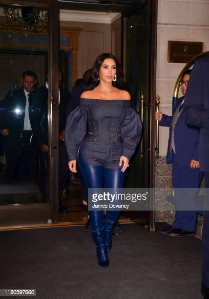Kim Kardashian West seen on the streets of Manhattan on November 6 2019 in New York City
