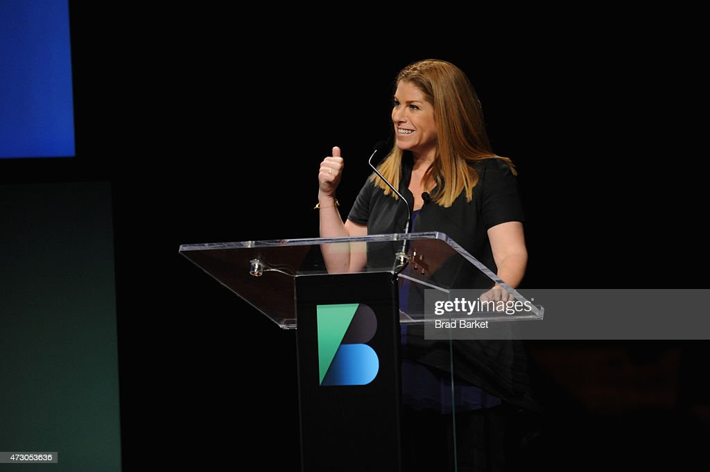 Kim Kelleher, Publisher, Wired speaks onstage at the WIRED Business Conference 2015 at Museum of Jewish Heritage on May 12, 2015 in New York City.