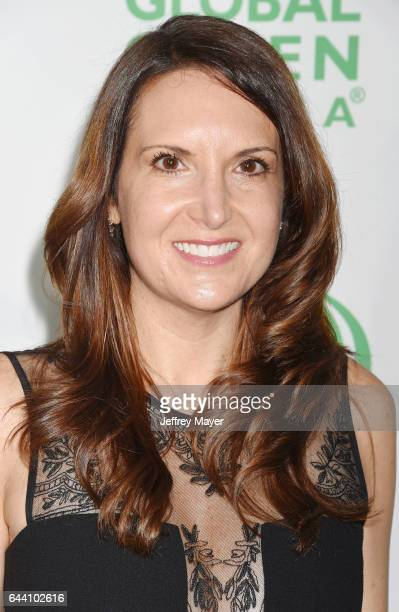Kim Kessler arrives at the 14th Annual Global Green PreOscar Gala at TAO Hollywood on February 22 2017 in Los Angeles California