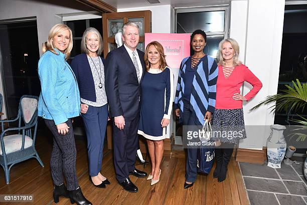 Kim Larson Nancy Farrell Bill Brand Marlo Thomas Anna Marie Joseph and Bonnie Trompeter attend The HSN Celebration for Marlo Thomas' Debut Fashion...