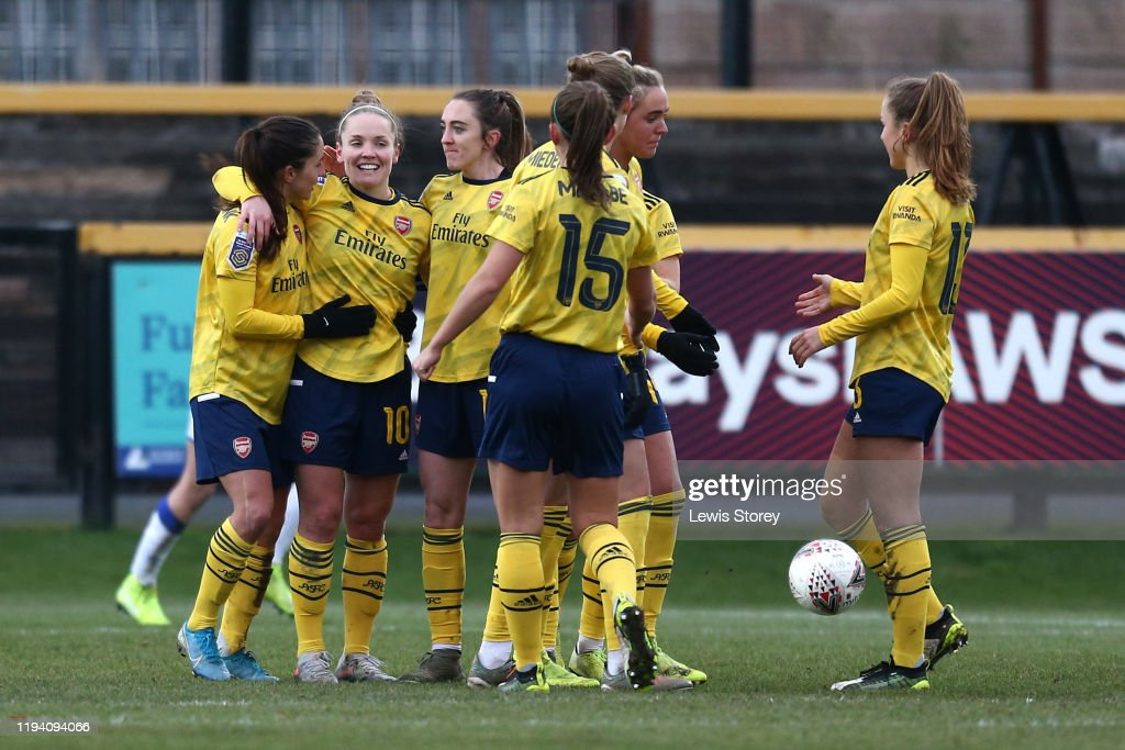 Everton v Arsenal - Barclays FA Women's Super League : News Photo