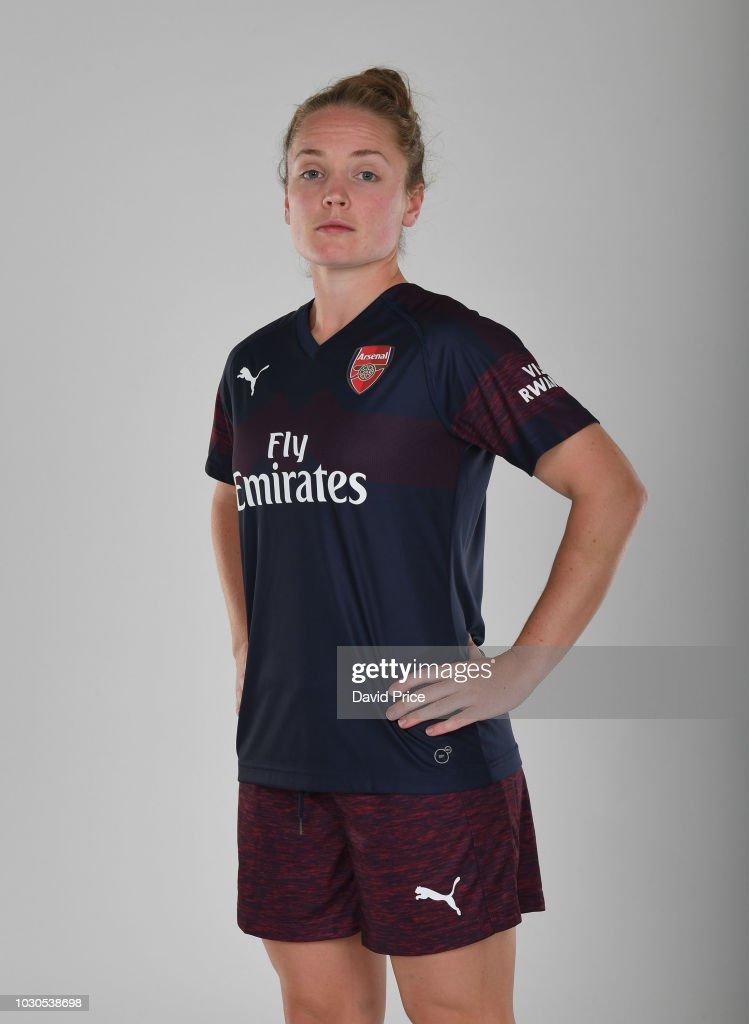 3510d8fba Kim Little of Arsenal during an Arsenal Women away kit photoshoot at ...