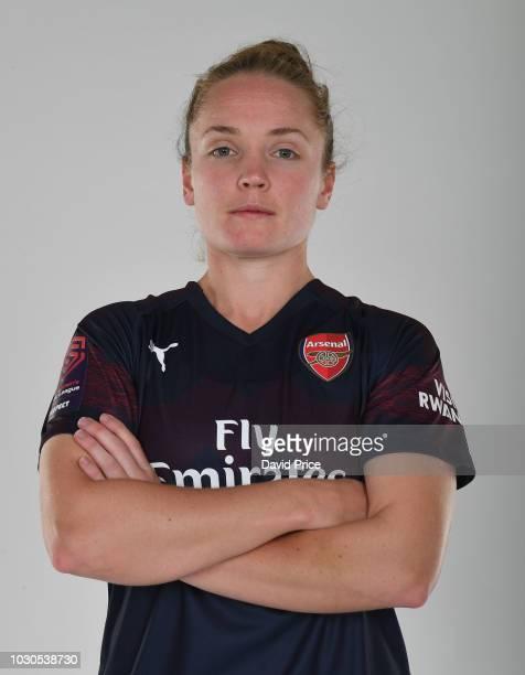 8402c8f72 Kim Little of Arsenal during an Arsenal Women away kit photoshoot at London  Colney on September