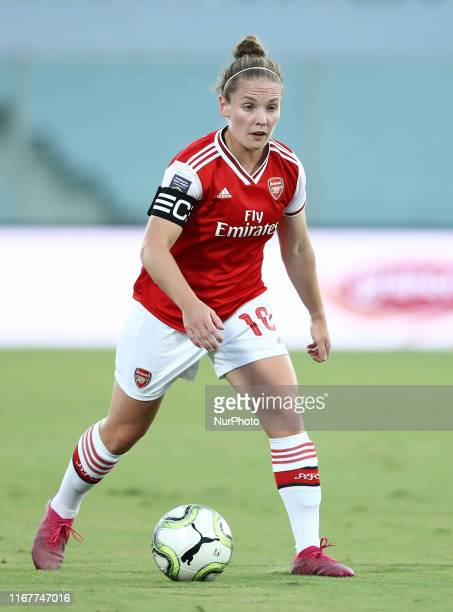 Kim Little of Arsenal during the UEFA women's Champions League round of 32 first leg match Fiorentina v Arsenal at the Artemio Franchi Stadium in...