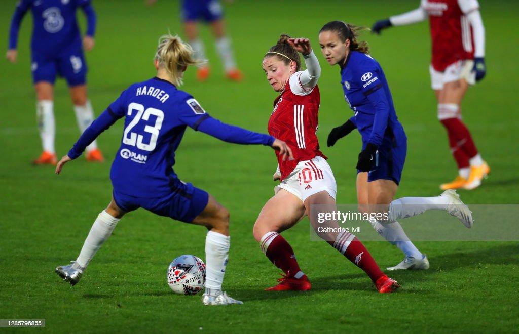 Arsenal Women v Chelsea Women - Barclays FA Women's Super League : News Photo