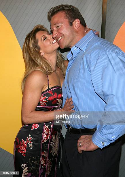 Kim Lyons and Matt Hoover during NBC's Winter 2007 TCA Press Tour All-Star Party - Red Carpet and Inside at Ritz-Carlton in Pasadena, California,...
