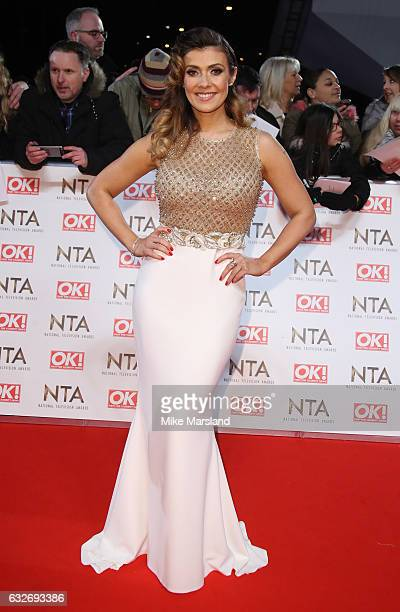 Kim Marsh attends the National Television Awards at The O2 Arena on January 25 2017 in London England