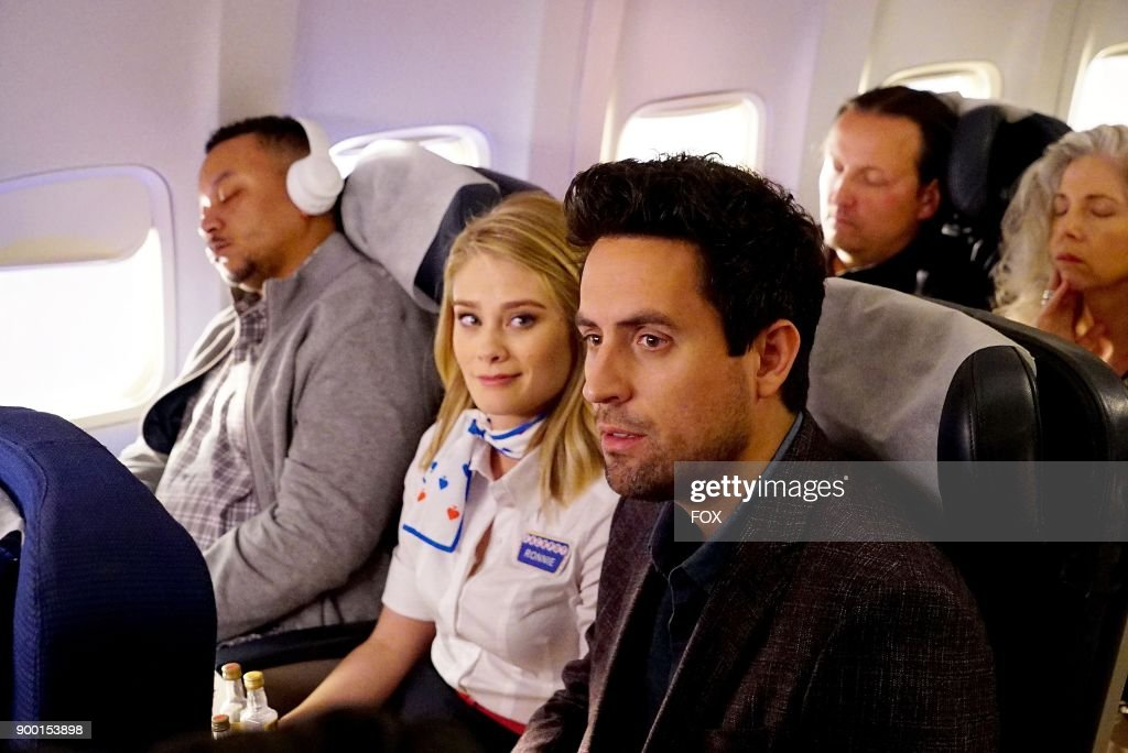 Kim Matula and Ed Weeks in the 'Pilot' premiere episode of LA TO VEGAS airing TUESDAY, Jan. 2 (9:00-9:30 PM ET/PT) on FOX.