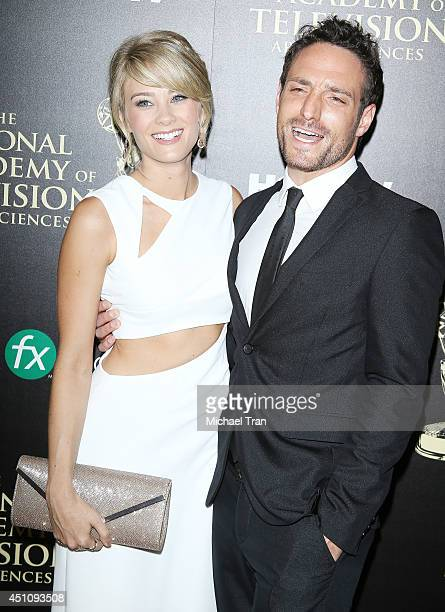 Kim Matula arrives at the 41st Annual Daytime Emmy Awards held at The Beverly Hilton Hotel on June 22 2014 in Beverly Hills California