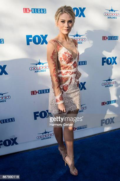 Kim Matula attends the Premiere Of Fox's LA To Vegas at LAX Airport on December 7 2017 in Los Angeles California