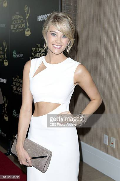 Kim Matula on the red carpet at The 41st Annual Daytime Entertainment Emmy® Awards
