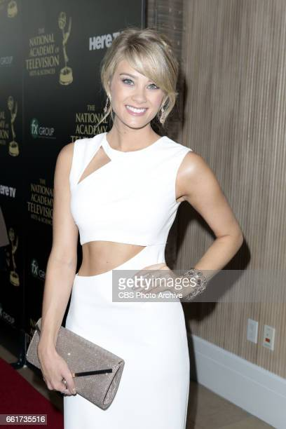 Kim Matula on the red carpet at The 41st Annual Daytime Entertainment Emmy Awards