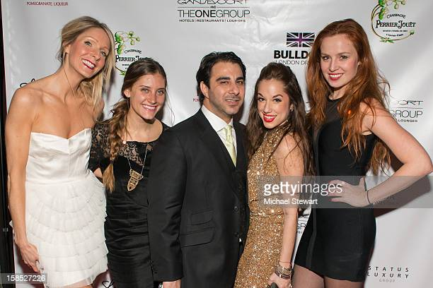 Kim McCall Alexi Tavel Nick Andreottola Nicole Rose Stillings and Olga Nemcova attend Celebrate Your Status 2012 by the Happy Hearts Fund at...