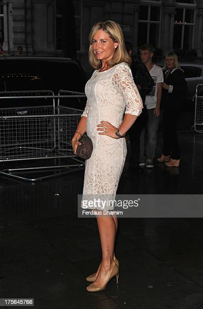 Kim Medcalf attends a special performance of Spamalot starring Barbara Windsor at Playhouse Theatre on August 5 2013 in London England