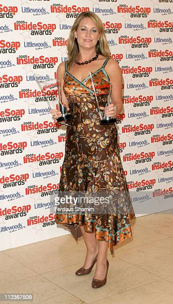 Kim Medcalf during 2005 Inside Soap Awards at Floridita in London Great Britain