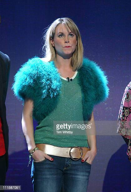 Kim Medcalf during Comic Relief Does Fame Academy March 5 2005 at Lambeth College in London England Great Britain