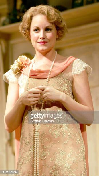 Kim Medcalf during 'Hay Fever' Rehearsal London Photocall April 19 2006 at Theatre Royal in London Great Britain